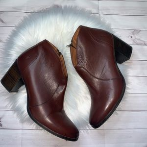Frye leather Nora ankle boots 8 1/2